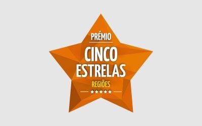 """Prémio Cinco Estrelas Regiões, na categoria """"Apoio Domiciliário"""""""